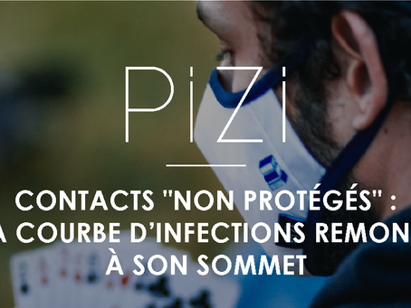 """Contacts """"non protégés"""" : la courbe d'infections remonte à son sommet"""