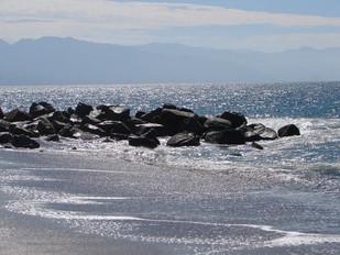 Puerto Vallarta sea & rocks