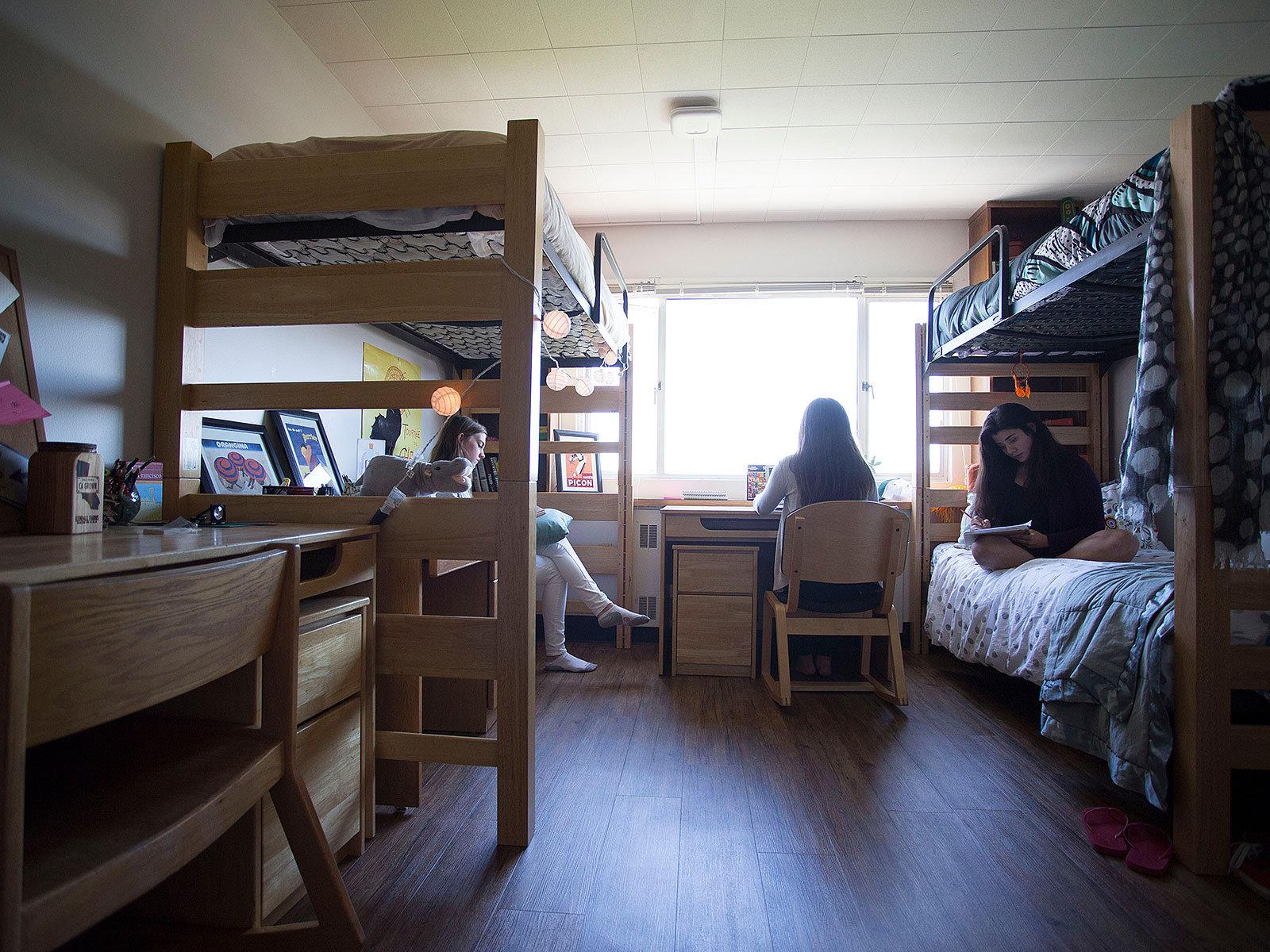Accomodation at IBI, Dorm Bed No.1