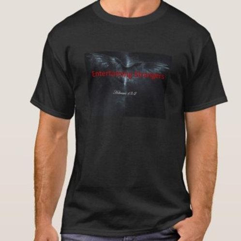 Entertaining Strangers Tshirt - logo