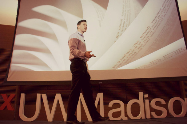 Ethan Young speaks at TEDx UW-Madison