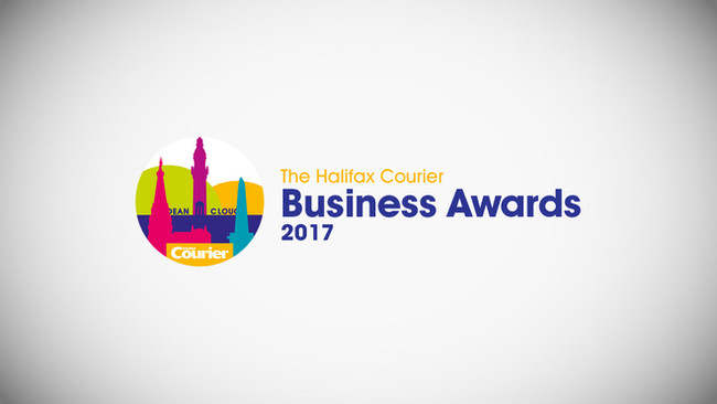 We've been shortlisted at this year's Halifax Courier Business Awards