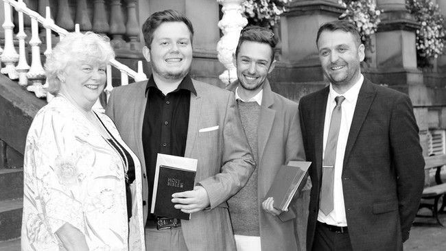 Jack Viney & Rhys Dunn become Licensed Conveyancers