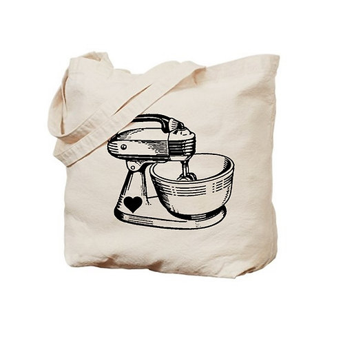 Vintage Mixer Tote Bag
