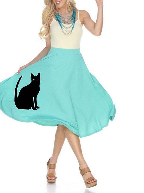 Cat Swing Skirt
