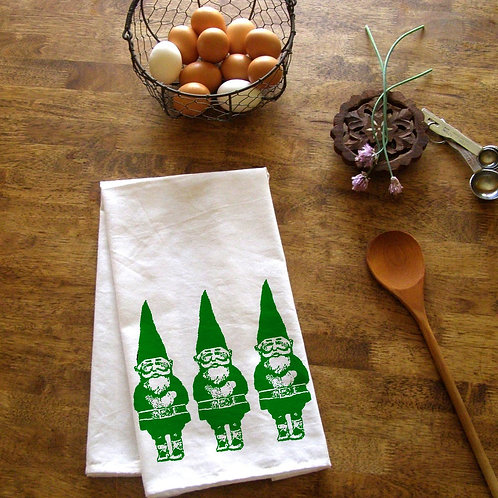 Gnomes Kitchen Towel