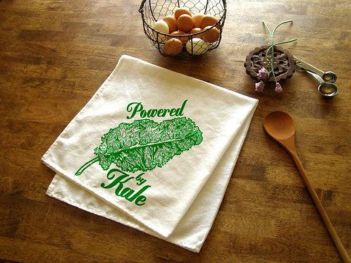 Kale Kitchen Towel