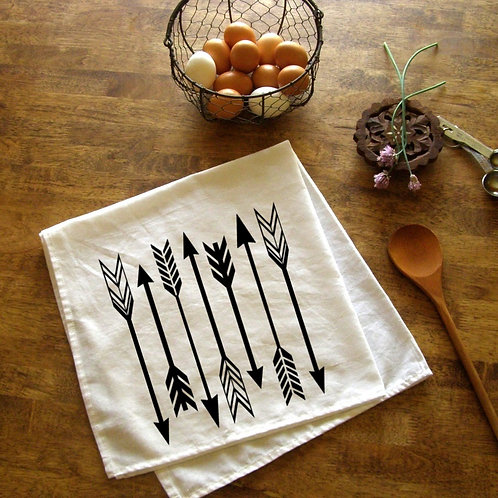 Arrows Kitchen Towel