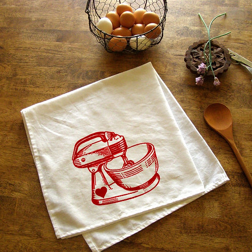 Vintage Mixer Kitchen Towel