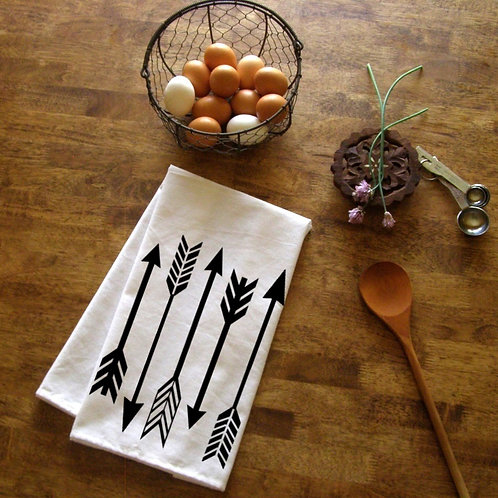 Arrows Kitchen Towel