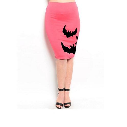 Bats Pencil Skirt