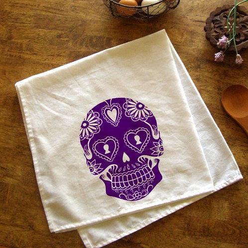Sugar Skull Kitchen Towel