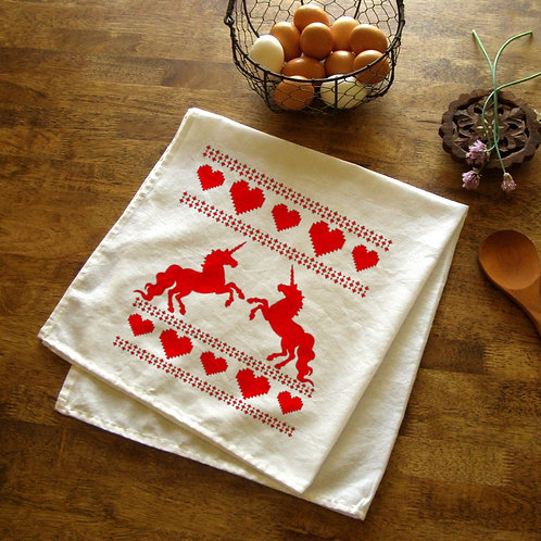 Unicorn Lovers Kitchen Towel