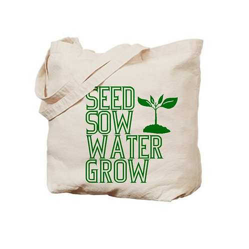 How Gardens Grow Tote Bag
