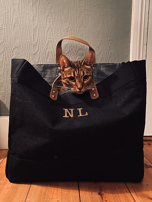 Luxury 'Hand painted' shopper