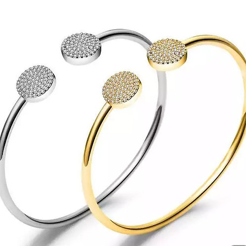 Diamante 'disc' bracelet
