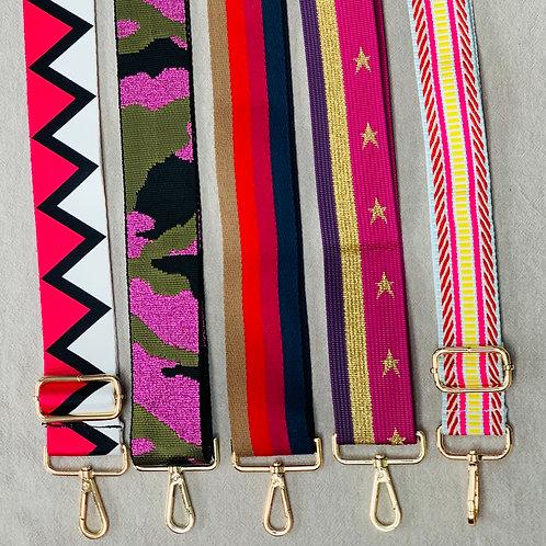 Adjustable bag straps - Pinks