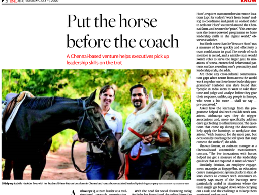Hindu Business Line Titles: Put the Horse before the Coach