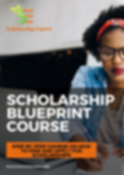 The Scholarship Expert's Scholarship Blueprint Course to walk students through how to fnd ad apply for scholarships to graduate debt-free