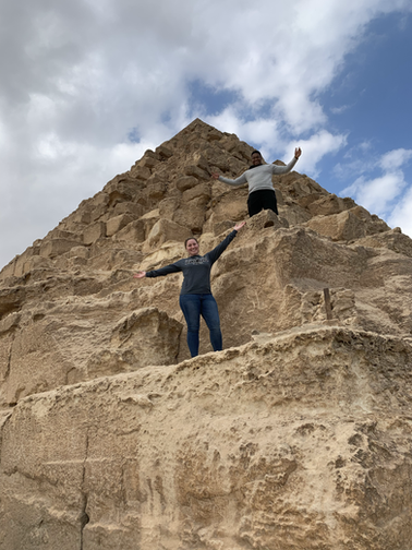 City Kids Searching the Globe. Egypt. Redefining. Justin & Alexis