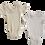 Thumbnail: Merino Bodysuits - Size New Born - Brand new