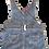 Thumbnail: Denim Dress - Owl Print - Size 2 years