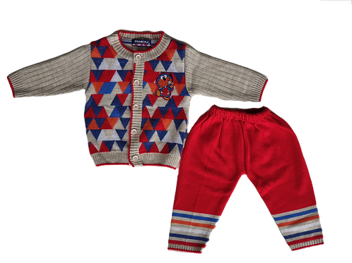 Colour Top and Pants - Size 6 to 12 monthws