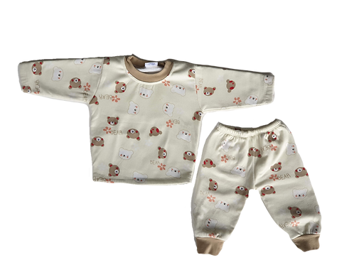 Bear PJ's - Size 6 to 12 months