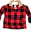 Thumbnail: Red & Black Checkered Top - Size 6 months