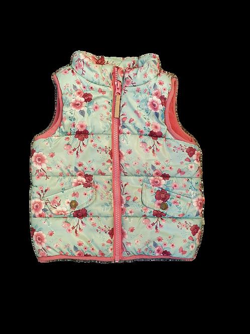 Pumpkin Patch Vest, Size 12 to 18 months