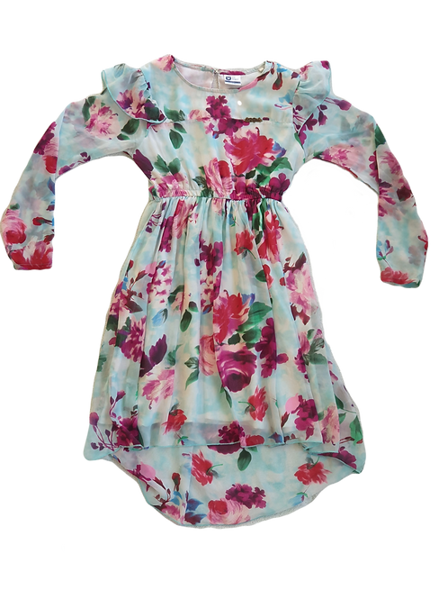 Floral Dress - Size 11 to 12 years
