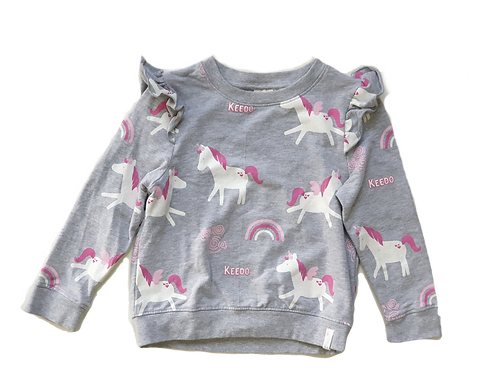 Unicorn Top & Bottoms - Size 5 to 6 years