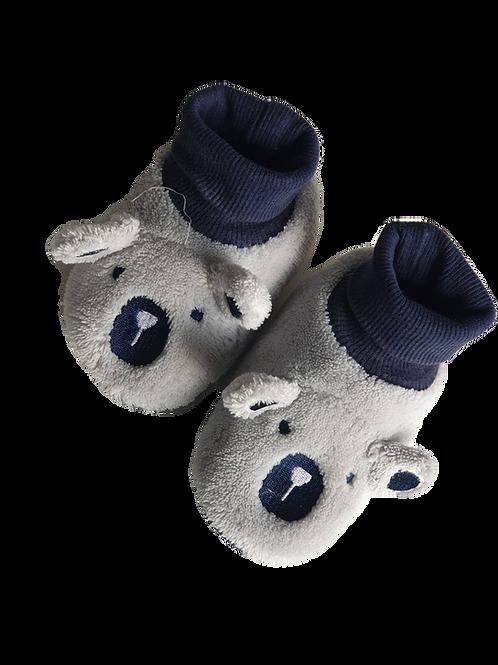 Bear Slippers - Size 5