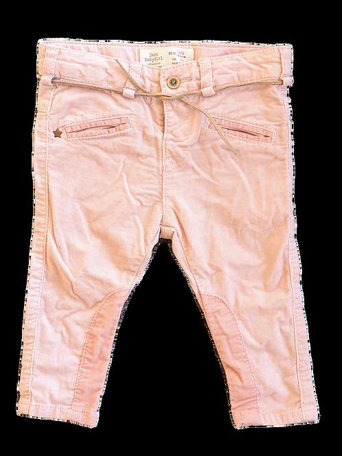 Zara Corduroy Skinny Pants - Size 6 to 9 months