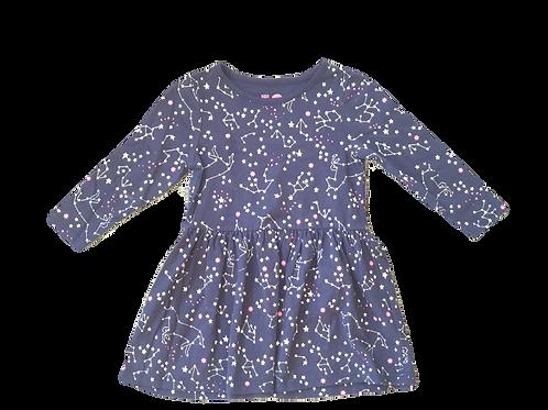 Navy Constellation Dress - Size 3