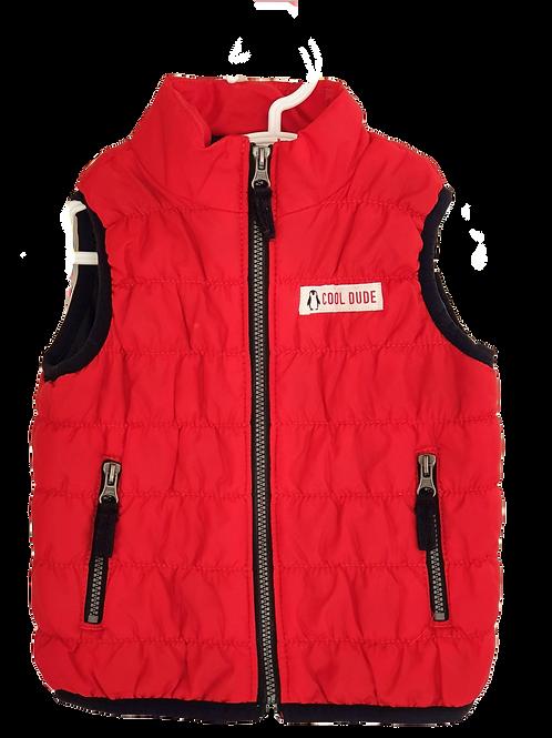 Red Vest - Size 9 months