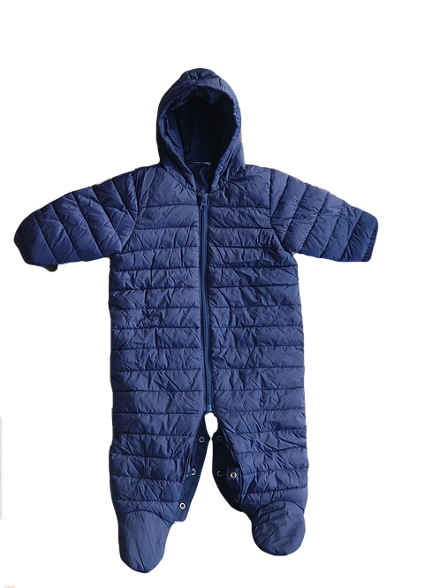 Navy Snow Suit - Size 6 to 9 months