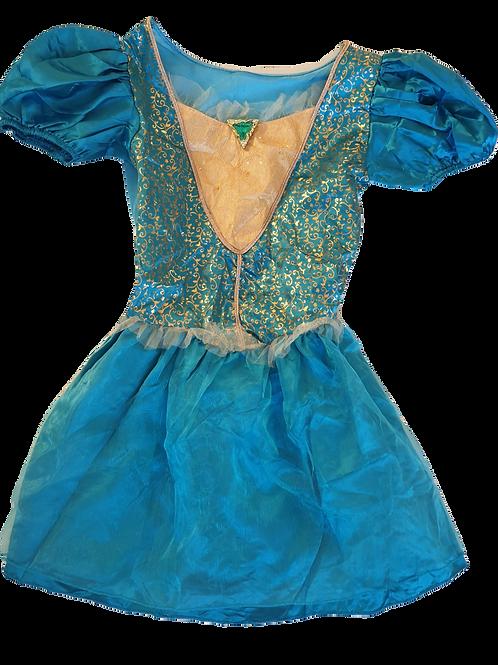 Teal Princess Fancy Dress - Size 3