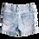 Thumbnail: Denim Flamingo Shorts - Size 5