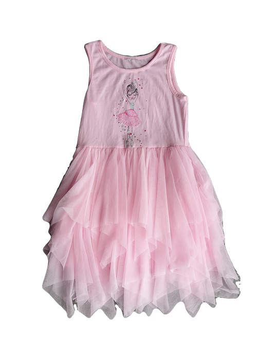 Pink Ballet Style Dress  - Size 5