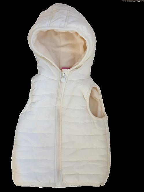 White / Cream Vest - size 4 to 5 years
