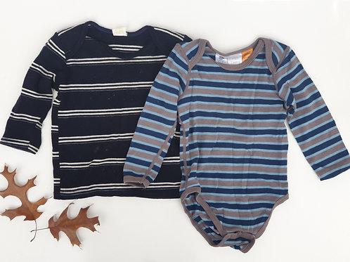Boys Merino Tops - Size 1 (sold as bundle)