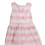 Thumbnail: Pink & White Dress - Size 12 to 18 months