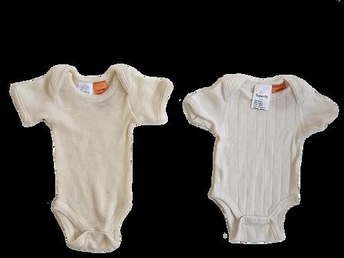 Merino Bodysuits - Size New Born - Brand new