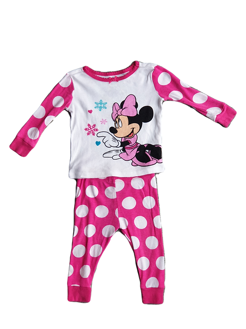 Mini Mouse PJ's - Size 6 to 12 months