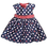 Thumbnail: Pumpkin Patch Polka Dot Dress, Size 2