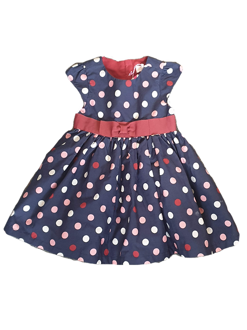 Pumpkin Patch Polka Dot Dress, Size 2
