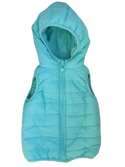 Light Teal Vest - Size 4 to 5 years