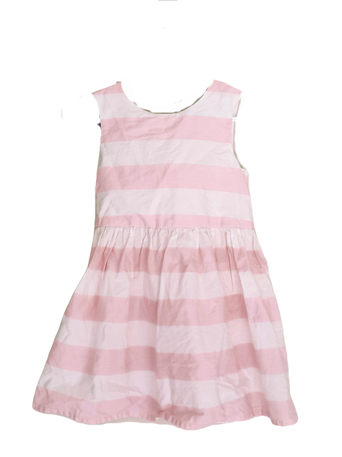 Pink & White Dress - Size 12 to 18 months