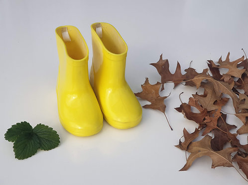 Yellow Gumboots - Size 6